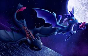 Dragons Flight by Tsitra360