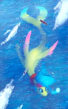 Sky Under Sea