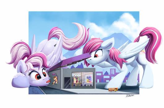 Pony Drive Thru - Commission