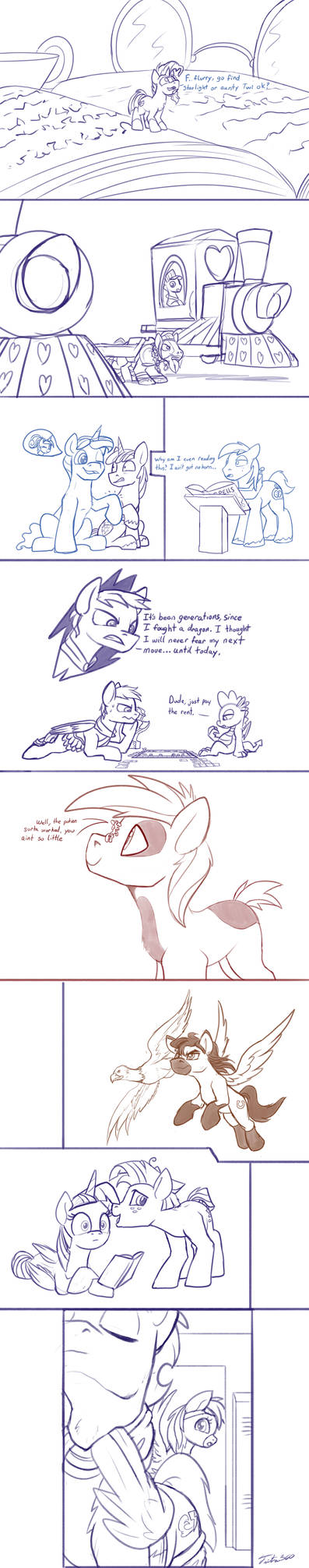 Doodle Requests Stallions