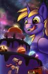 Star Cake - Commission