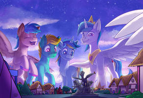 Big Brother Ponies - Commission