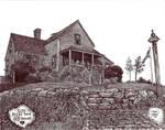 Nantucket House number 4 by Dan-Moran