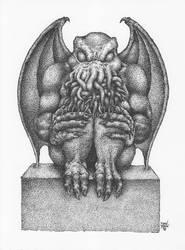 Cthulhu Idol, Print Version by Dan-Moran
