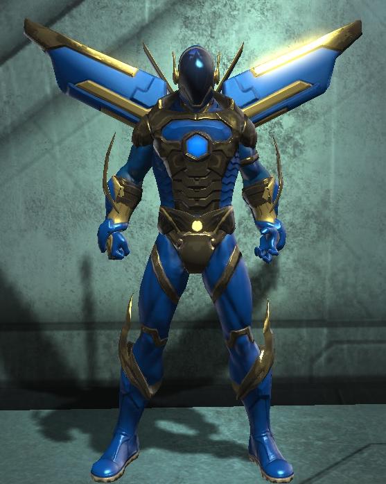 Elemental Hero Sparkman (DC Universe Online) by Macgyver75