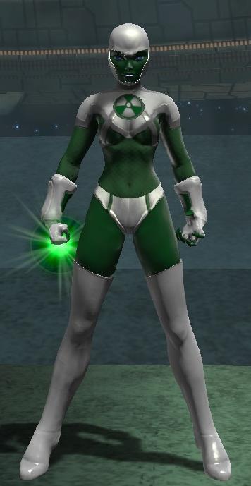 Green Lantern Aya (DC Universe Online) by Macgyver75