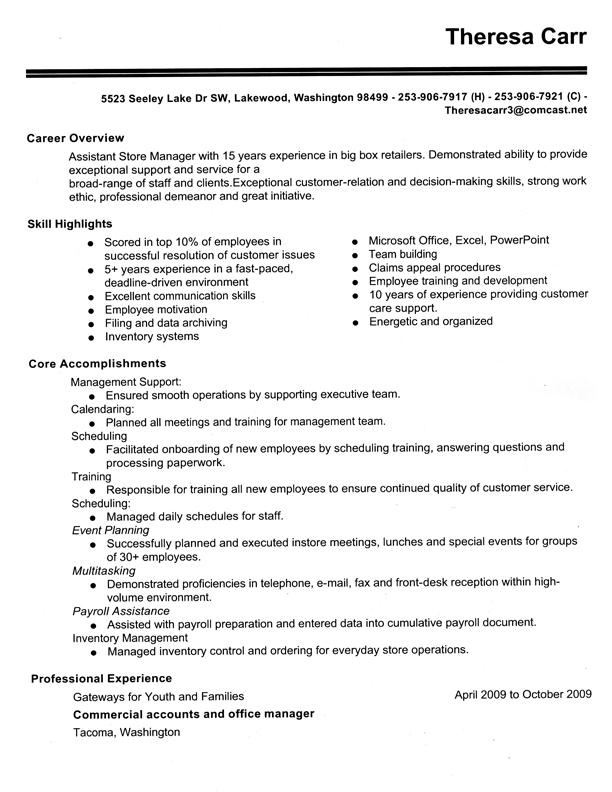 Art buyer resume