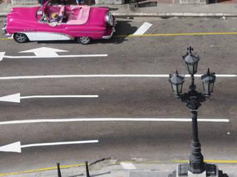 Driving in Havana by PktPictures