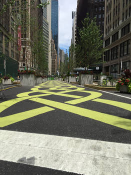 NYC Yellow Brick Road