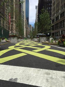 NYC Yellow Brick Road
