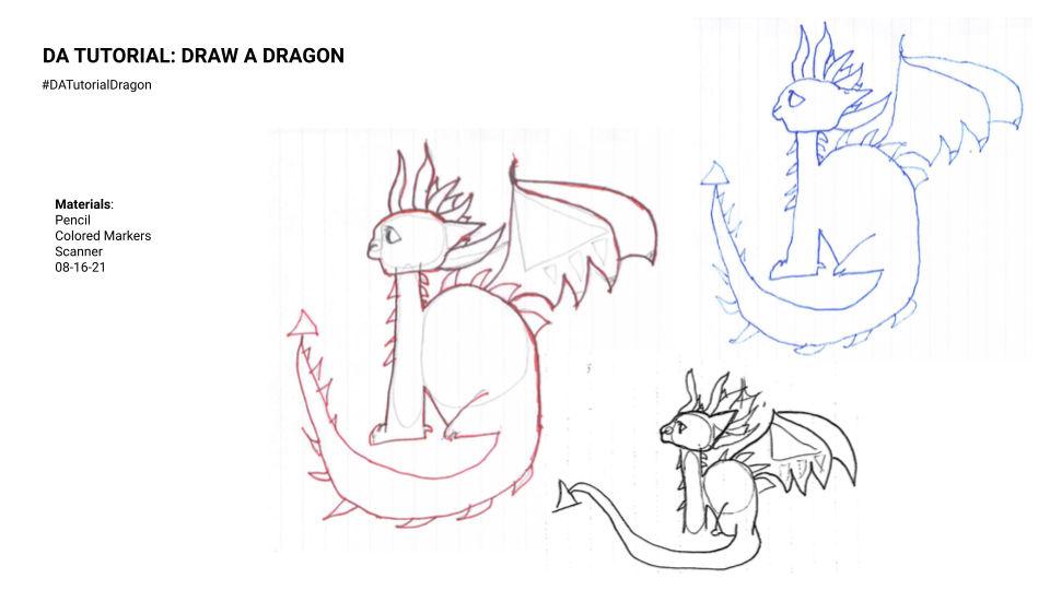 08-16-21 DA Tutorial  Mattie's Dragon