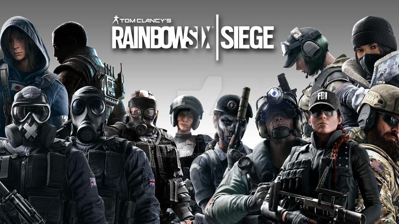 Rainbow Six Siege All Operators Wallpaper By Samiatrix On