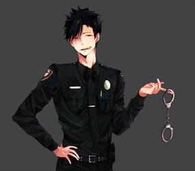 arrest me, kuroo.