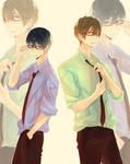 Boyfriends in formal wear~