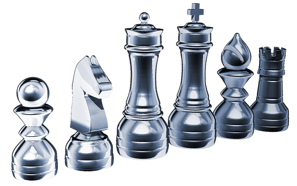 3D Chess pieces by MrLaZe