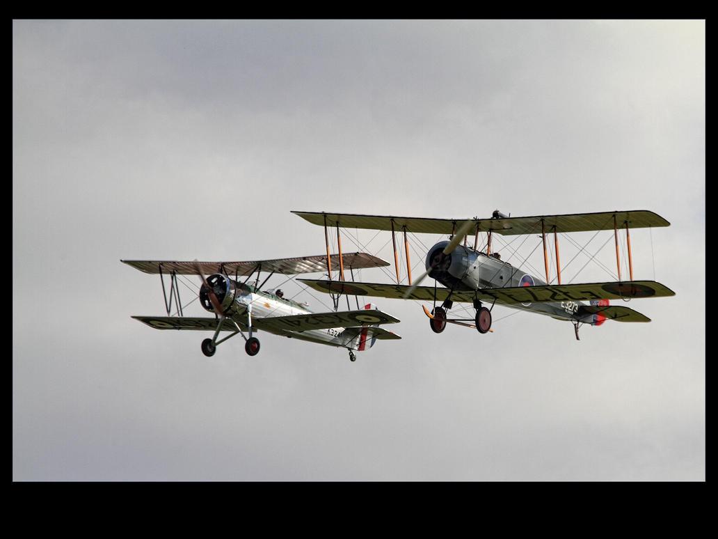 Avro Tutor and Avro 504k by Bogbrush