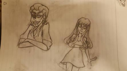 Vampire Dnd sketches/concept by Satako15