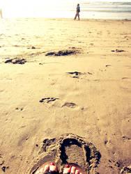 Feet on the Sand
