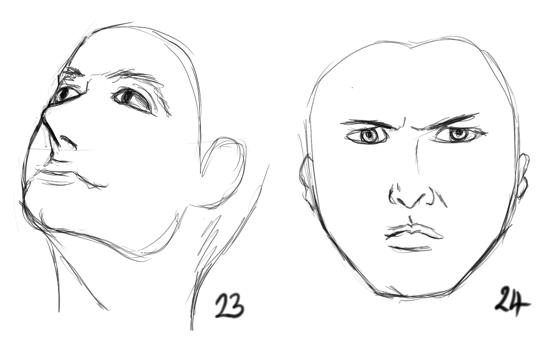 Five Minute Faces #23-24 by Meg-07