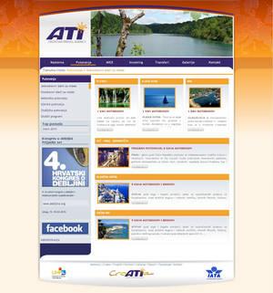 Travel agency web
