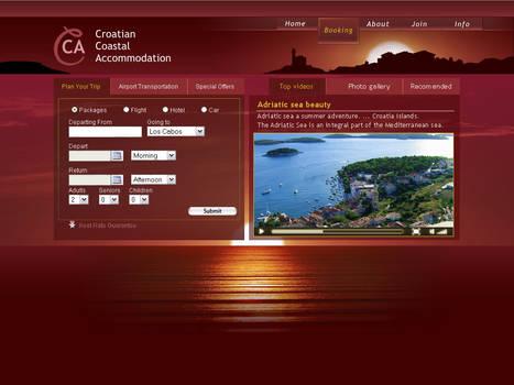 Seaside web template