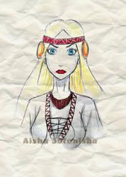 Slavianka by AishaSofonisba
