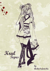 Krul Tepes in a japanese outfit by AishaSofonisba