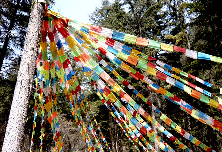 Prayer Flags by dark-side-no-cookies
