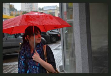 W deszczu w Dyni by Maczer