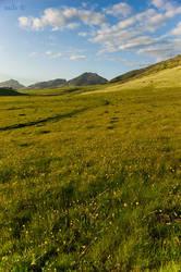 Foothills of the Peaks by twelvemotion