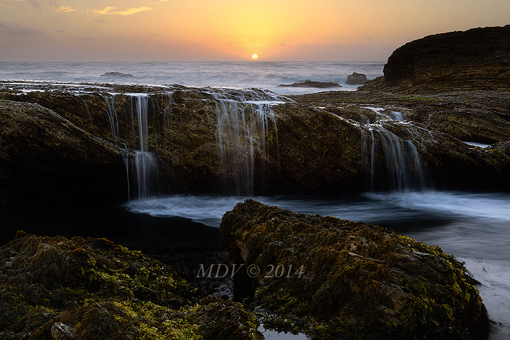 Sundown at Montana de Oro by twelvemotion