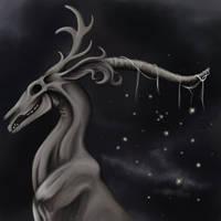 Bone Dragon by Wingedworchael