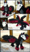 Winged Skull Dog