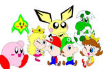 Babies of Nintendo by Rotommowtom