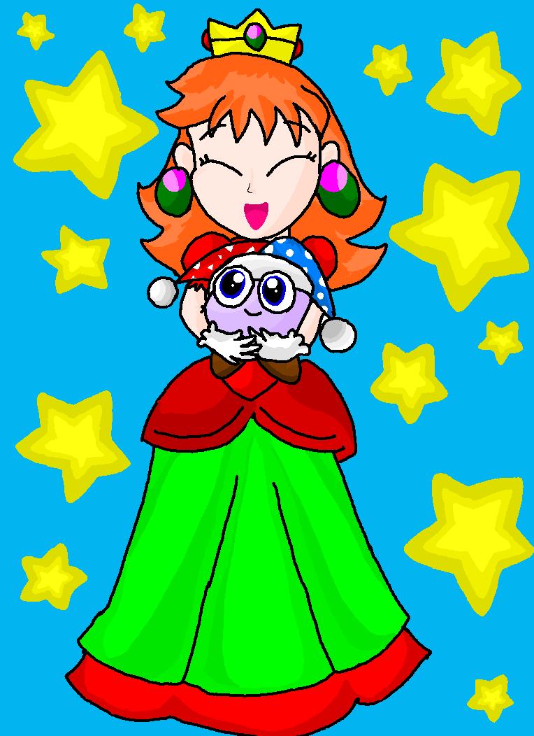 Princess olivia and Marx by Rotommowtom