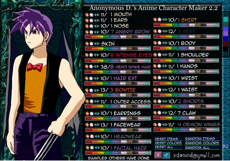 Deviantart Character Creator Desktop Wallpaper