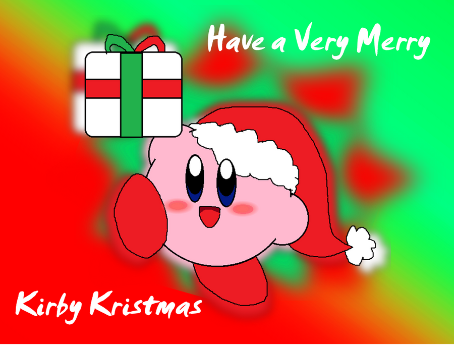 Have A Merry Kirby Kristmas by Rotommowtom on DeviantArt