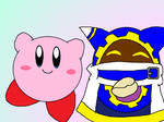 Kirby and Magolor