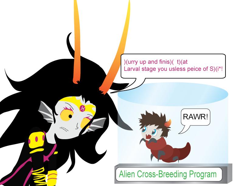 the_condesce_s_alien_cross_ ...