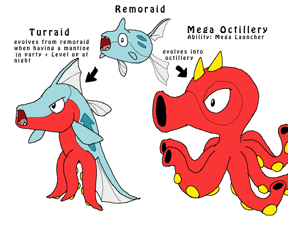 Remoraid Images | Pokemon Images
