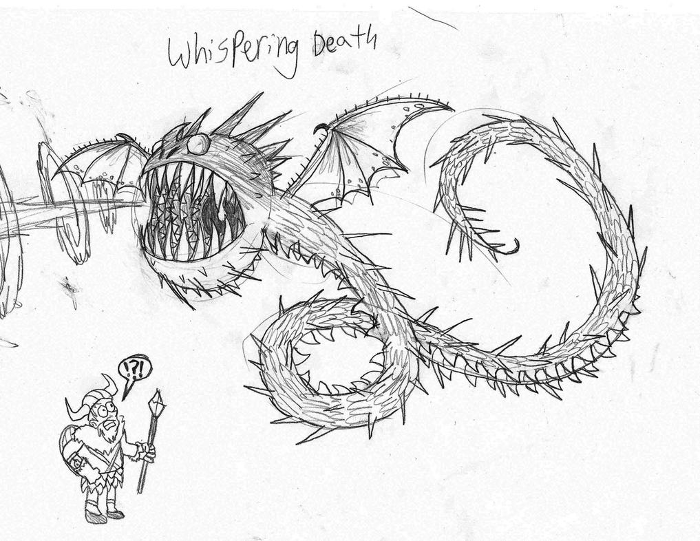 whispering death sketch by rotommowtom