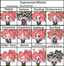 Expression Meme - Julie