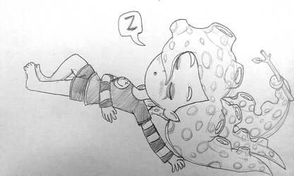 Doodle - Sleeping Julie