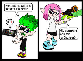 Splatoon - Need A Charger?