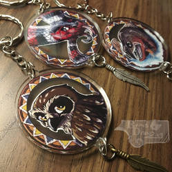 Native American Zodiac Keychains 4