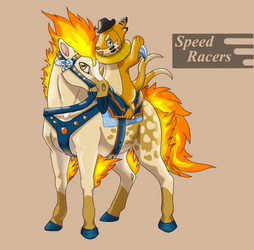 Speed Racers Ponyta and Buizel