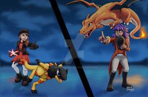 Battle Tower Battle   Pokemon Sword Shield Fanart