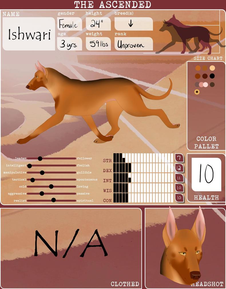 Ishwari : The Ascended by xXbeanpoleXx