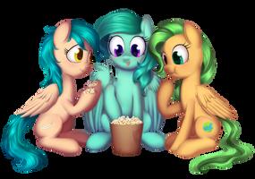 *Com* Pop corn party by DivLight