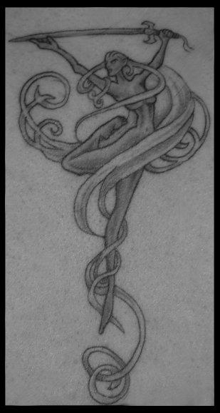 Eilistraee tattoo